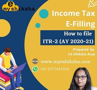 Income Tax Return (ITR) – B.Com