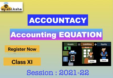 Accounting Equation – XI