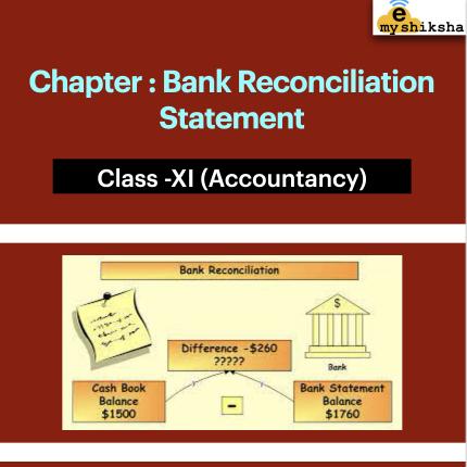 Bank Reconciliation Bank